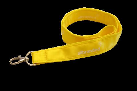 Satin Schlüsselbänder PMS Wunschfarbe   ohne Werbeanbringung   15 mm   Handyschlaufe   Ohne Verschluss   Ohne Safetyclip   Ohne Zubehör